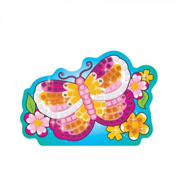 Kit enfant mosaiques papillon