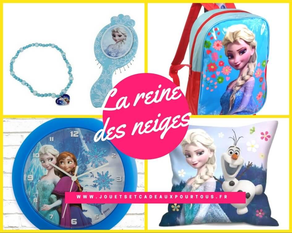 Accessoires La reine des neiges et cadeaux utiles enfant