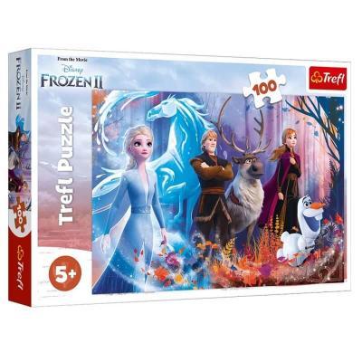La reine des neiges 2 puzzle 100 pieces trefl