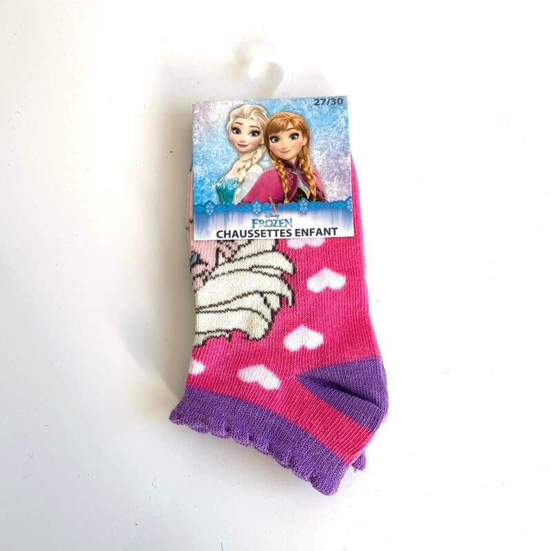 La reine des neiges chaussettes enfant