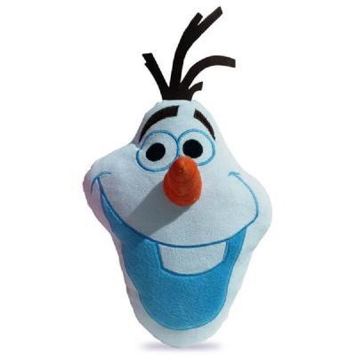 Coussin La reine des neiges forme Olaf