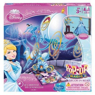 Le carrosse de cendrillon Disney Princess : le jeu de société