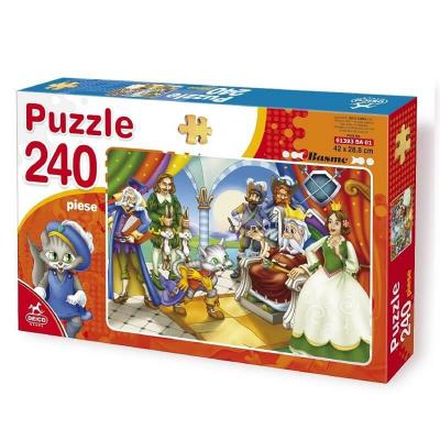 Le chat botte puzzle 240 pieces