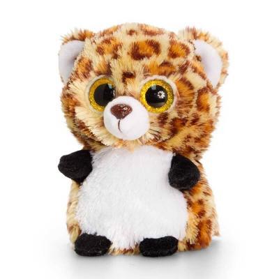 Peluche léopard aux gros yeux Mini Motsu Keel Toys