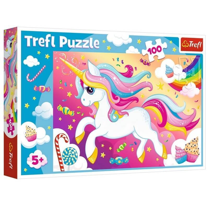Licorne puzzle 100 pieces
