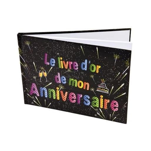 Livre d or anniversaire version feu d artifice