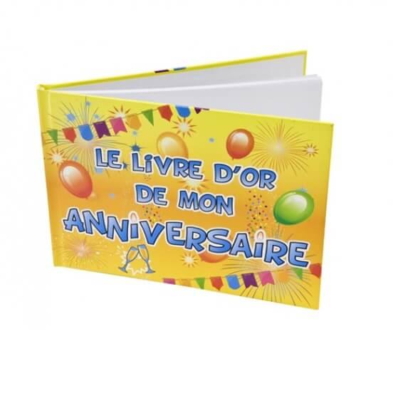 Livre d or anniversaire version fiesta
