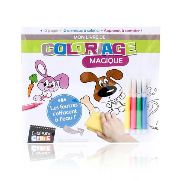 Livre de coloriage magique animaux