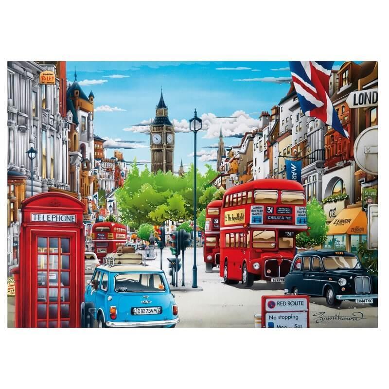 Londres puzzle 1000 pieces