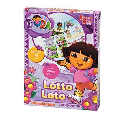 Loto Dora - Jeu enfant dés 3 ans