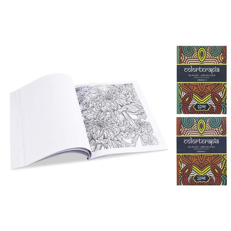 Mandala 28x21cm colormax 32 dessins
