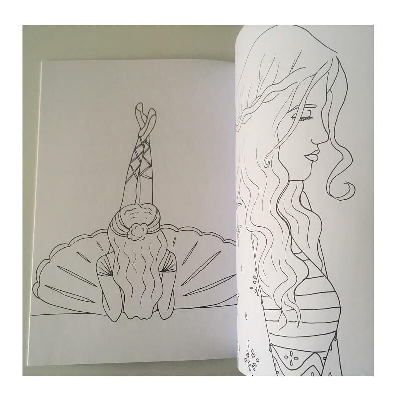 Mandala coloriage 24 dessins a4 femmes fees exemple