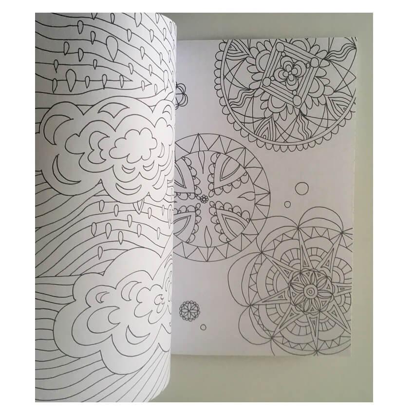 Mandala formes geometriques exemple