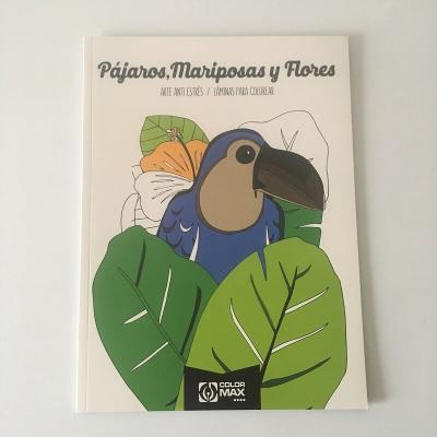 Mandala oiseaux et flore 24 dessins format A4