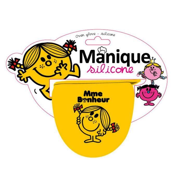 Manique en silicone monsieur madame cadeau cuisine