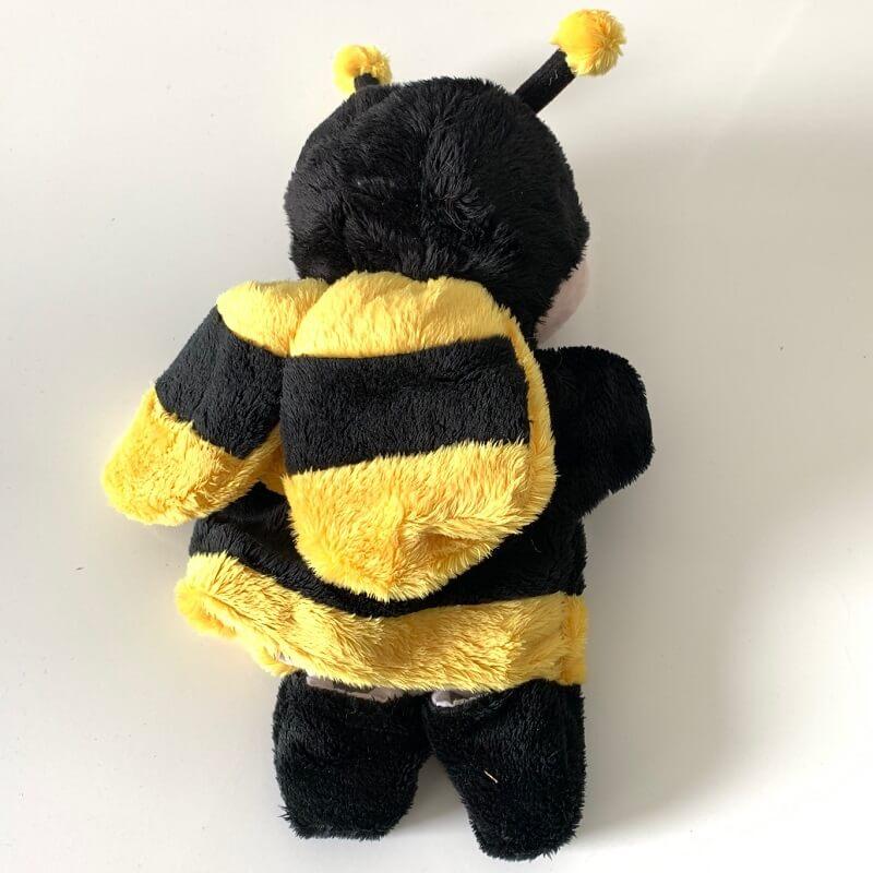 Marionnette abeille peluche enfant
