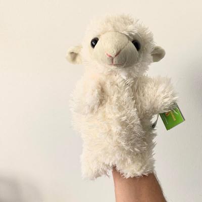 Marionnette peluche mouton