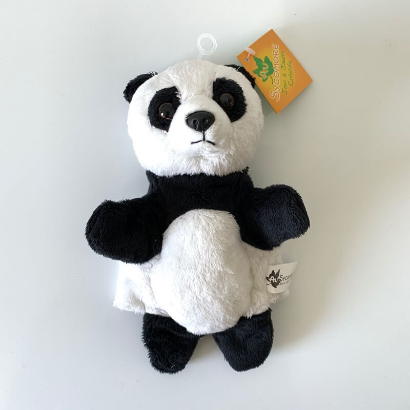 Marionnette peluche panda