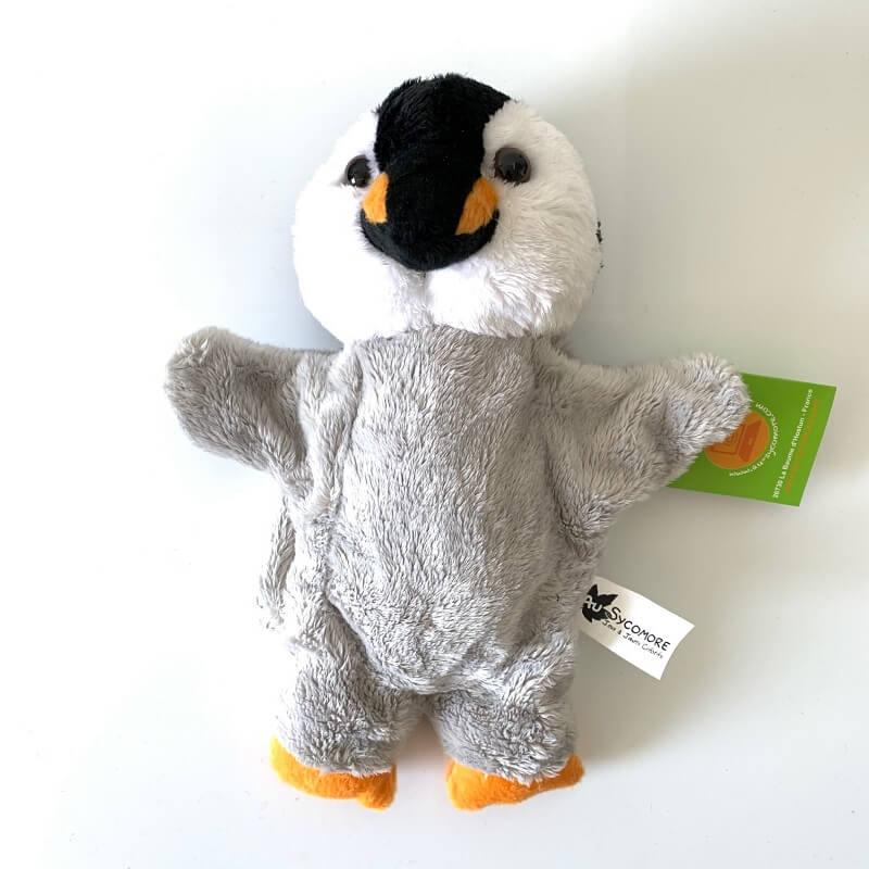 Marionnette pingouin