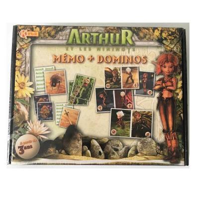 Mémo et dominos Arthur et les minimoys