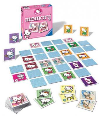 Memory hello kitty ravensburger jeu educatif enfant
