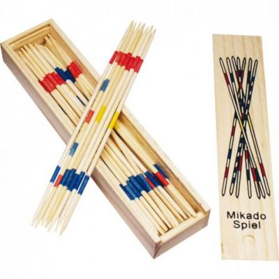 Jeu du Mikado en bois
