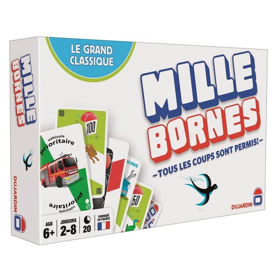 mille bornes le grand classique jeu de soci t fran ais. Black Bedroom Furniture Sets. Home Design Ideas