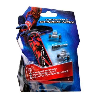 Mini skateboard à main Spider-Man - Finger skateboard Marvel