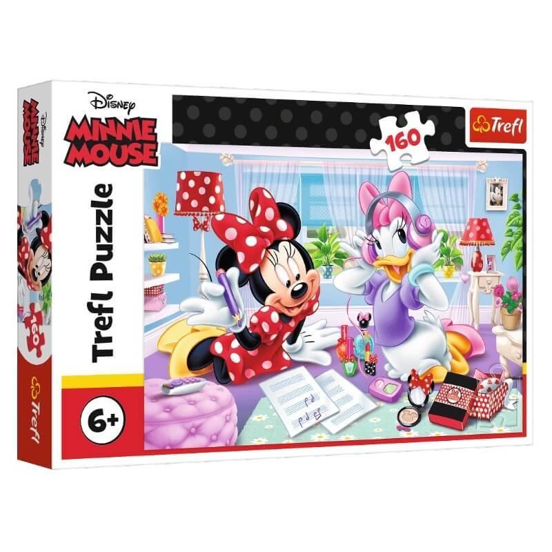 Minnie et daisy disney puzzle 160 pieces
