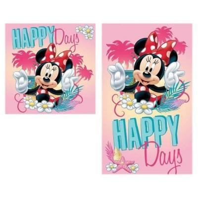 Set de 2 serviettes Minnie