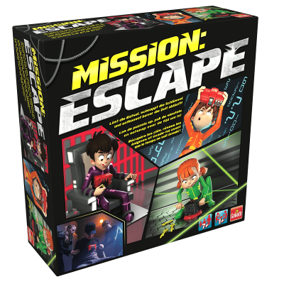 Mission escape jeu de societe goliath