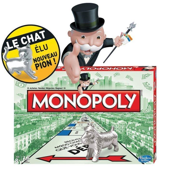 Monopoly nouveau avec piont chat