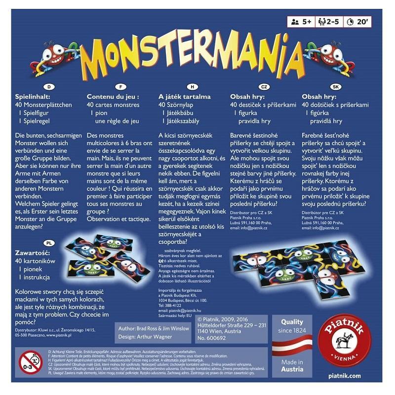 Monstermania le jeu familial