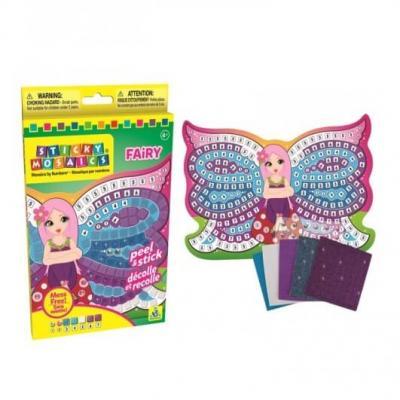Mosaique fee par numeros activite manuelle enfant facile 1