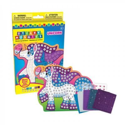 Mosaique licorne activite manuelle enfant