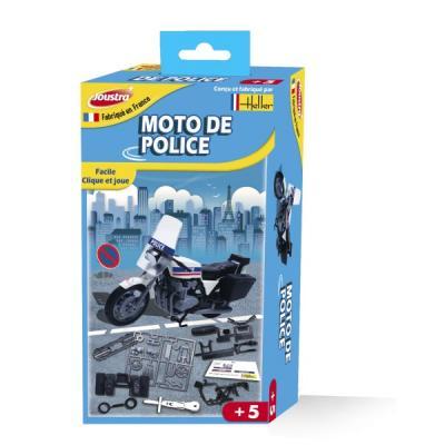 Moto de police maquette Joustra - Fabriqué en France