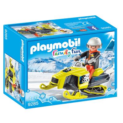 Motoneige Playmobil et son personnage