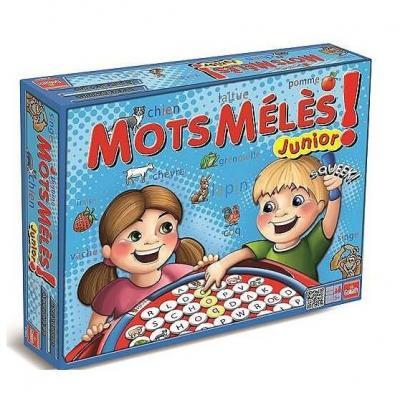 Mots Mêlés Junior - Le jeu de société Goliath