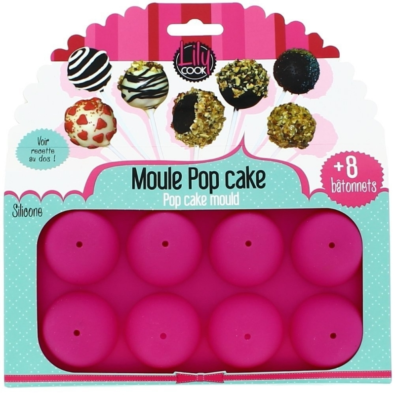 Moule a pop cakes rose