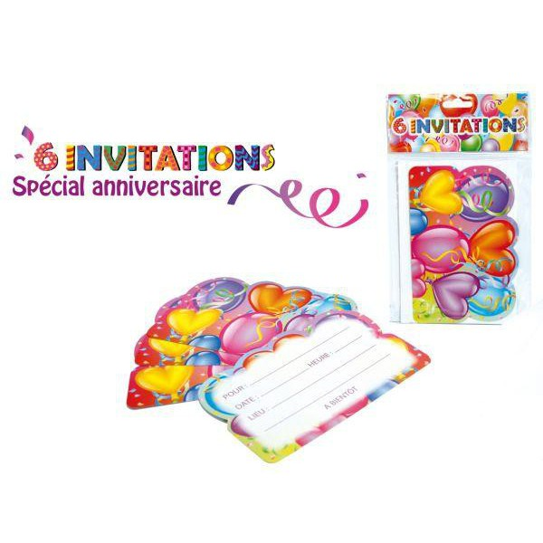 Mpea9332 lot 6 invitations