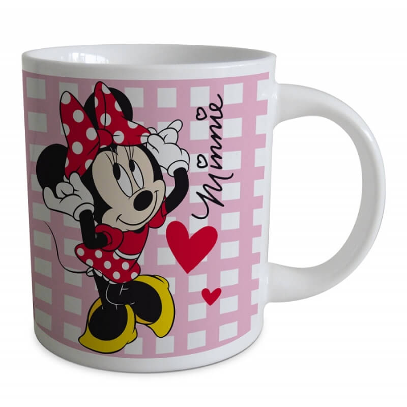 Mug minnie mouse disney coeur 1