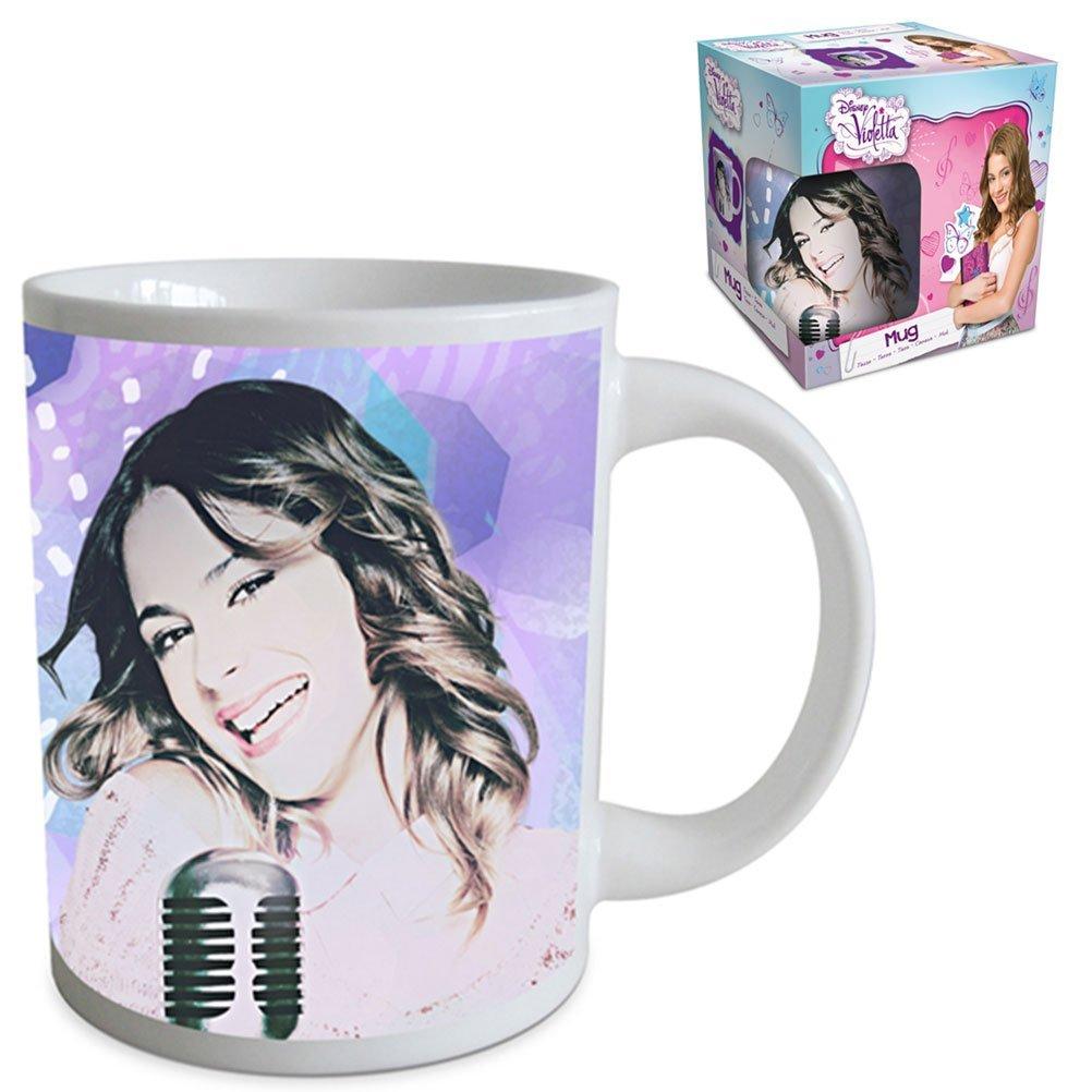 Mug tasse violetta enfant licence disney