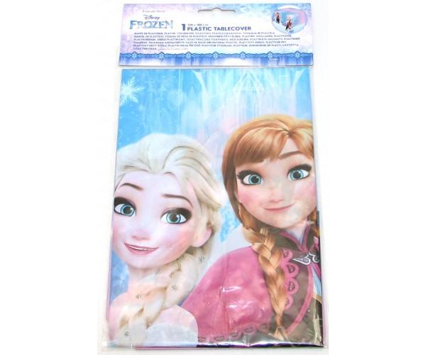 Nappe plastique la reine des neiges sous emballage