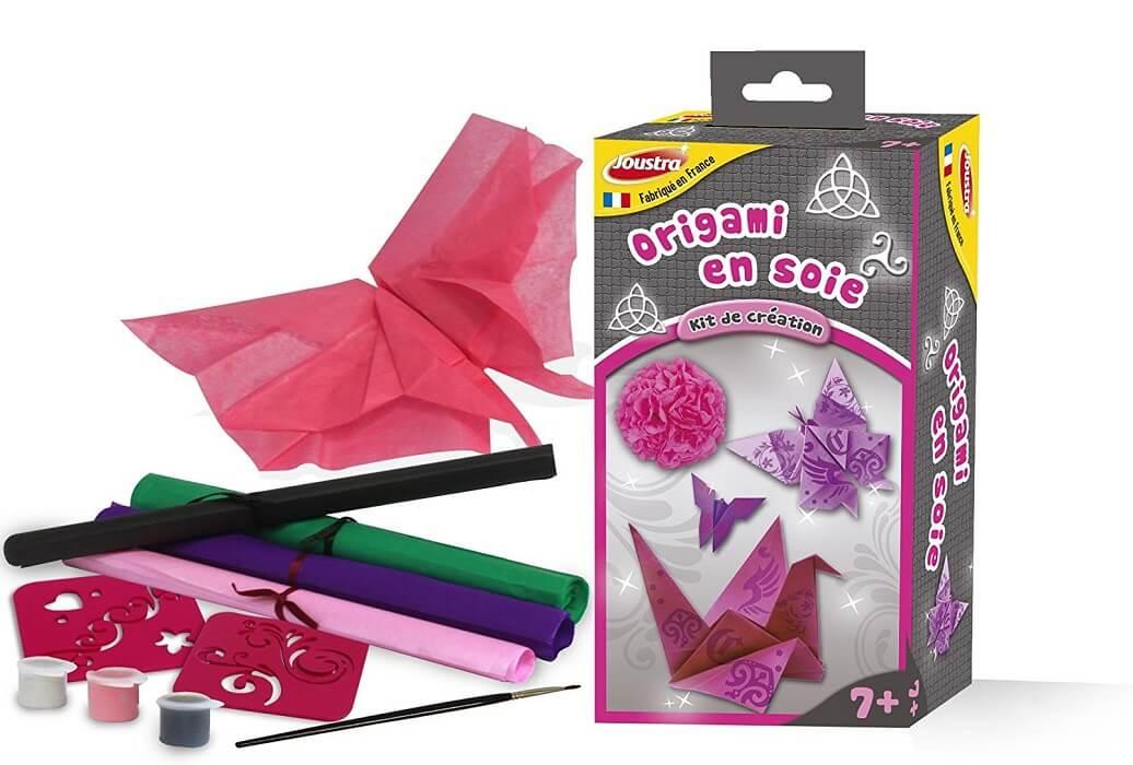 Origami en soie loisirs creatifs enfant 7 ans joustra