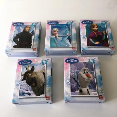 Ensemble de 5 Puzzles La reine des neiges Disney
