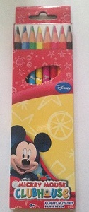 Pack crayons mickey 12