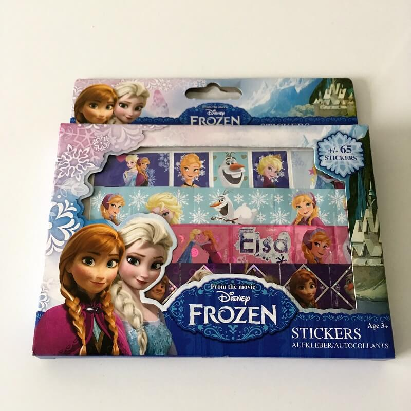 Pack de 65 stickers la reine des neiges disney