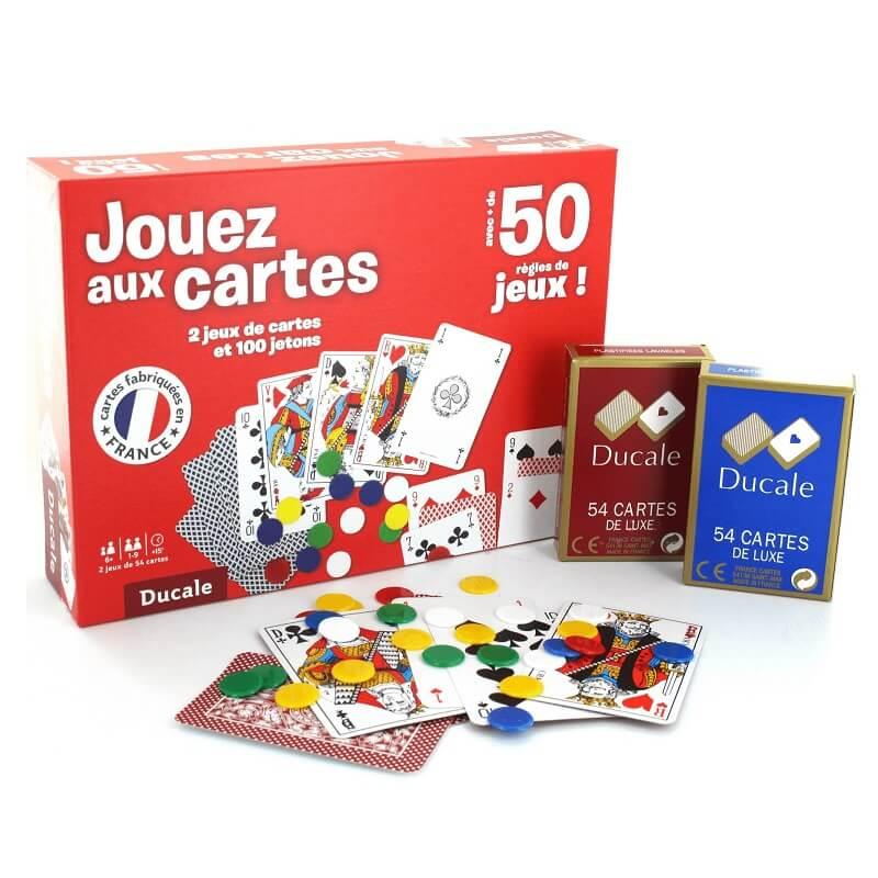 Pack jeux de cartes ducale france cartes 1