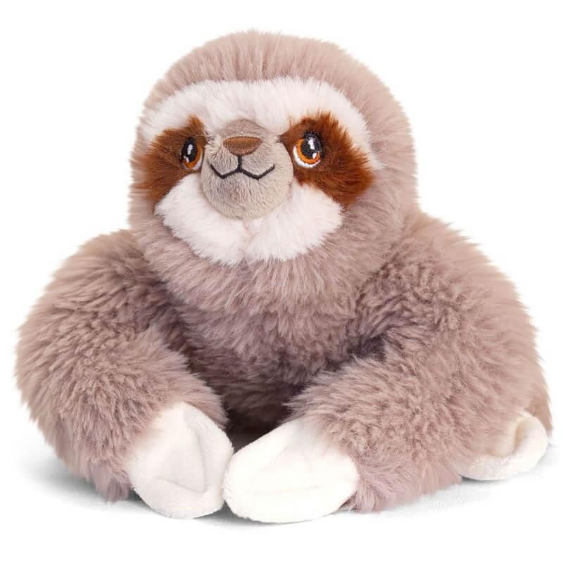 Paresseux peluche keeleco 100 matiere recyclee
