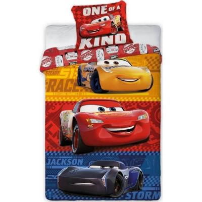 Housse de couette Cars Disney et une taie d'oreiller